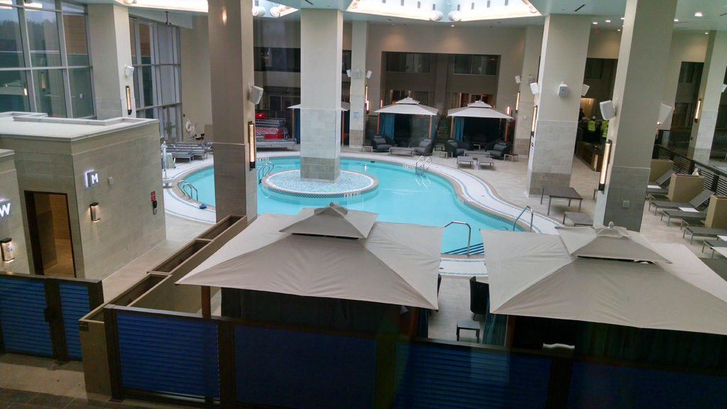 Resorts World Catskills pools