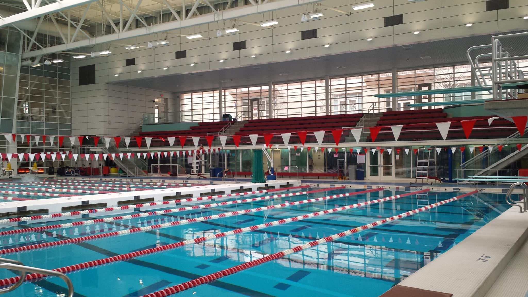 Boston University Fit Rec Pool Weston Amp Sampson