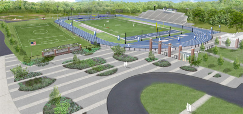 Design Engineering And Construction For Athletic Complex
