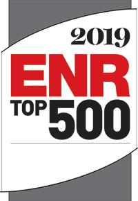 2019 ENR Top 500 Design Firm