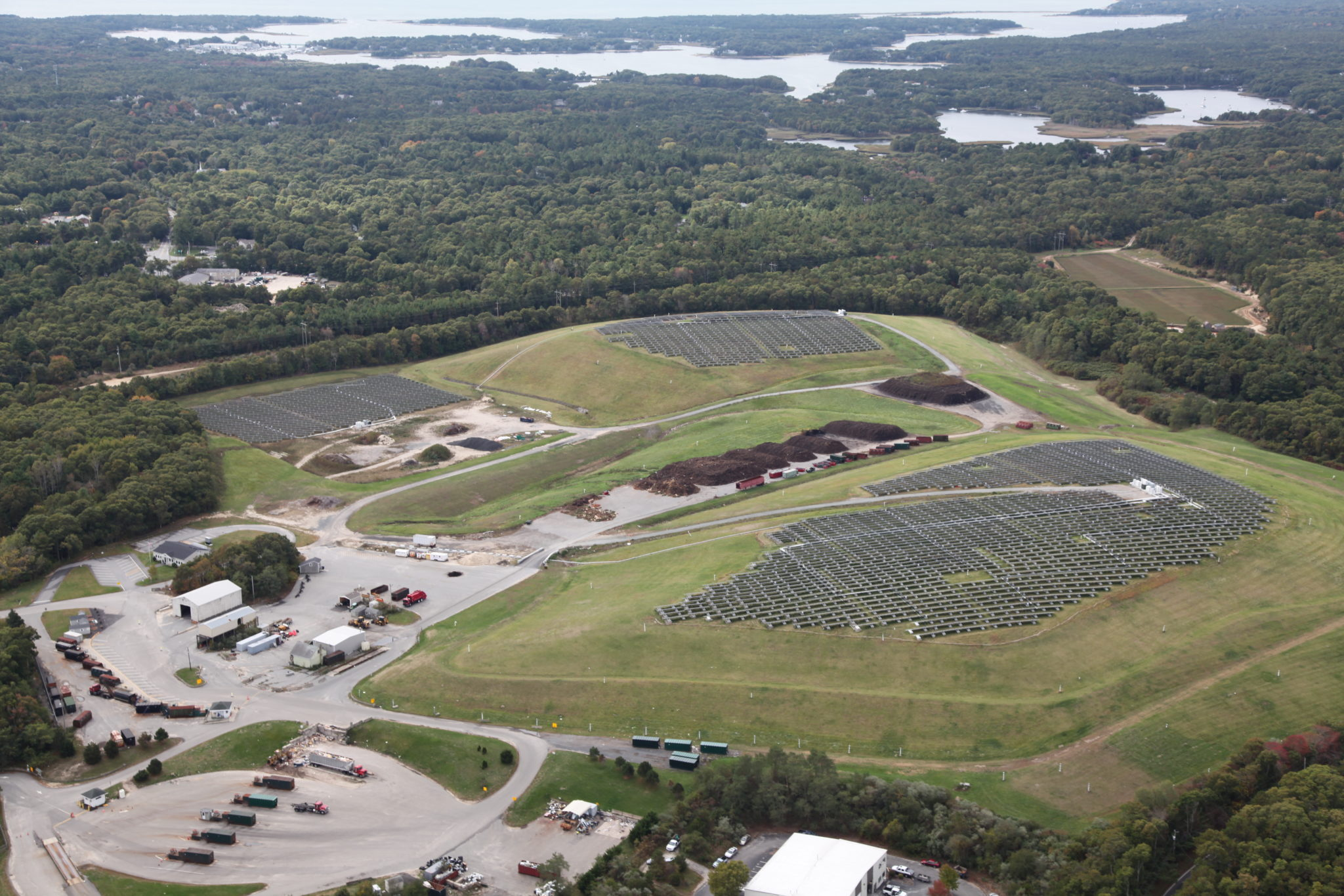 Landfill Solar Projectbarnstable Ma Weston Amp Sampson