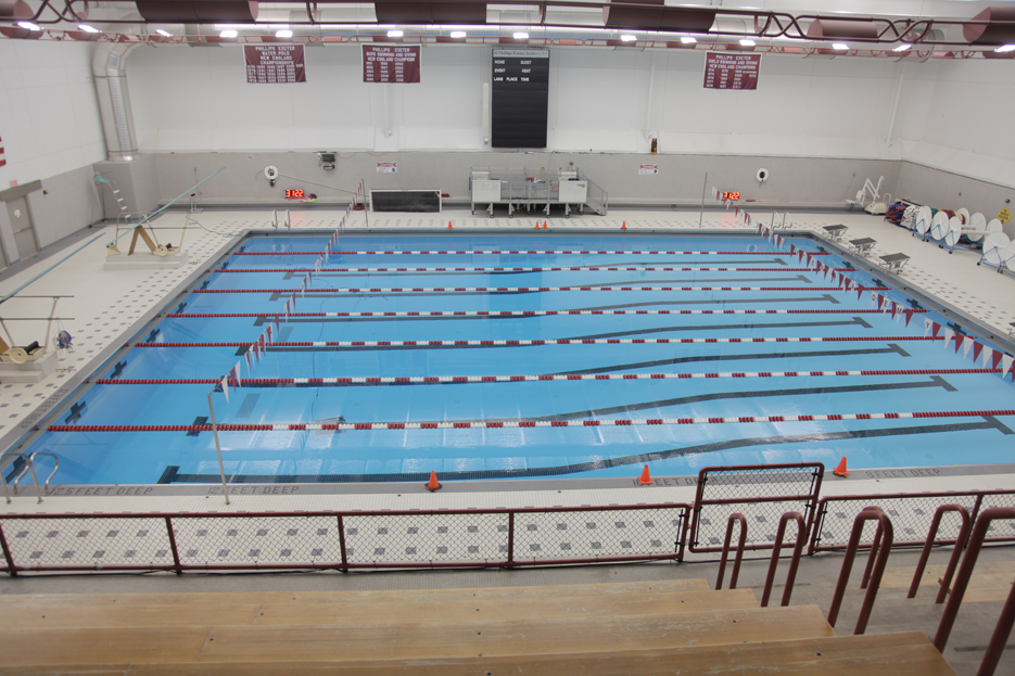 Indoor athletic pool facility weston sampson for Indoor swimming pool building regulations