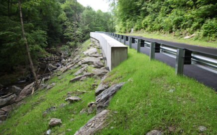 Geotechnical Slope Stabilization Savoy Black Brook Road