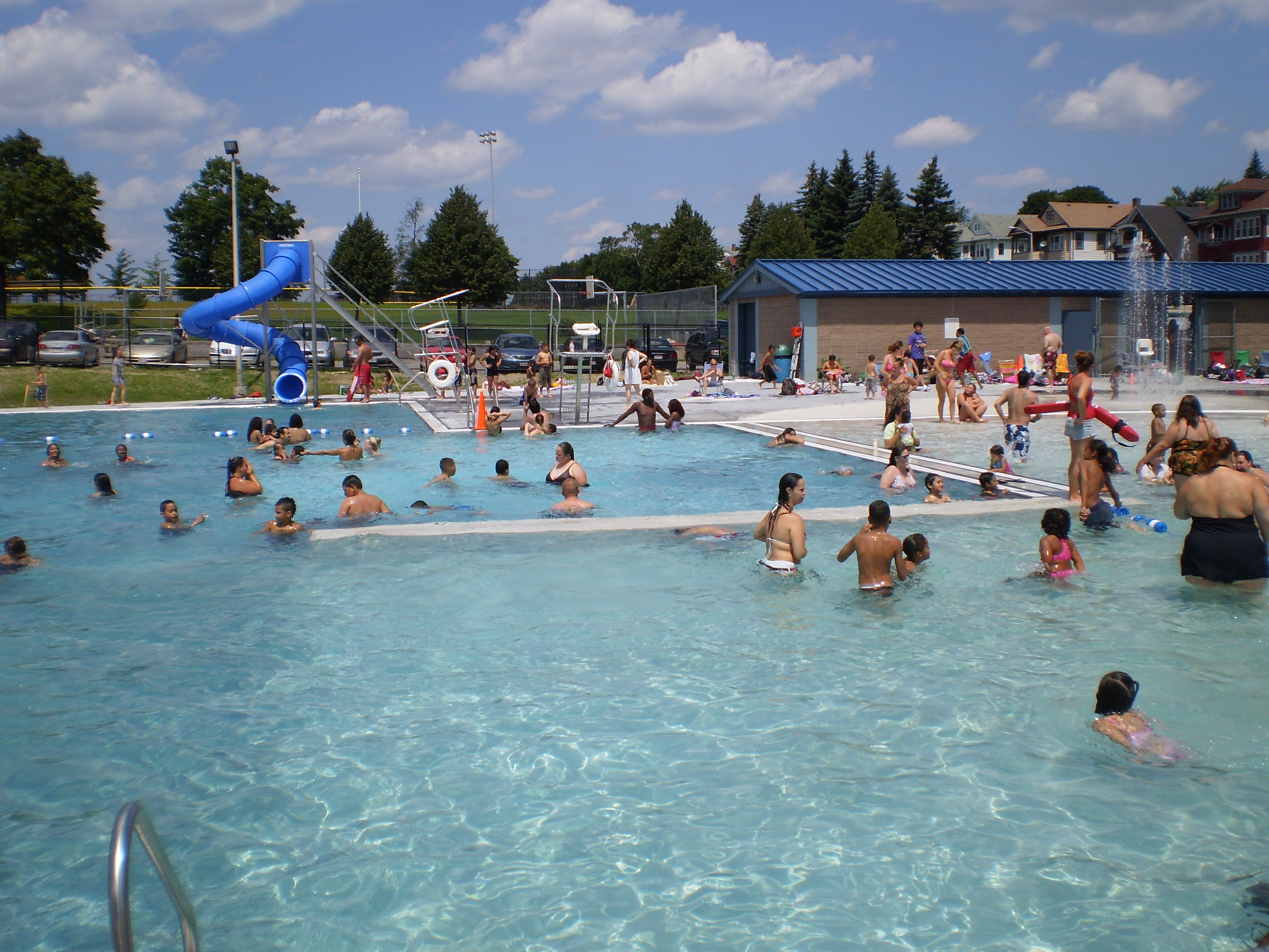 Outdoor Municipal Pool Weston Amp Sampson