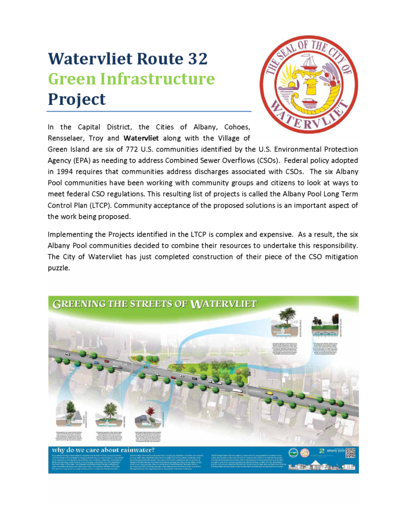 APWA NY 2016 Project of the Year - Environmental