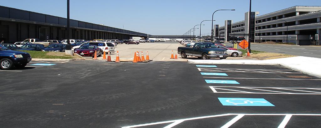 civil site engineering services - Washington Dulles International Airport Arrivals & Departures (IAD) Building Expansion