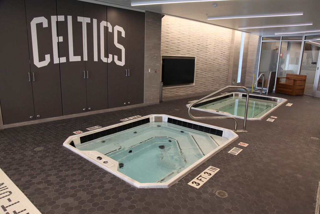 Celtics Training Facility Pools