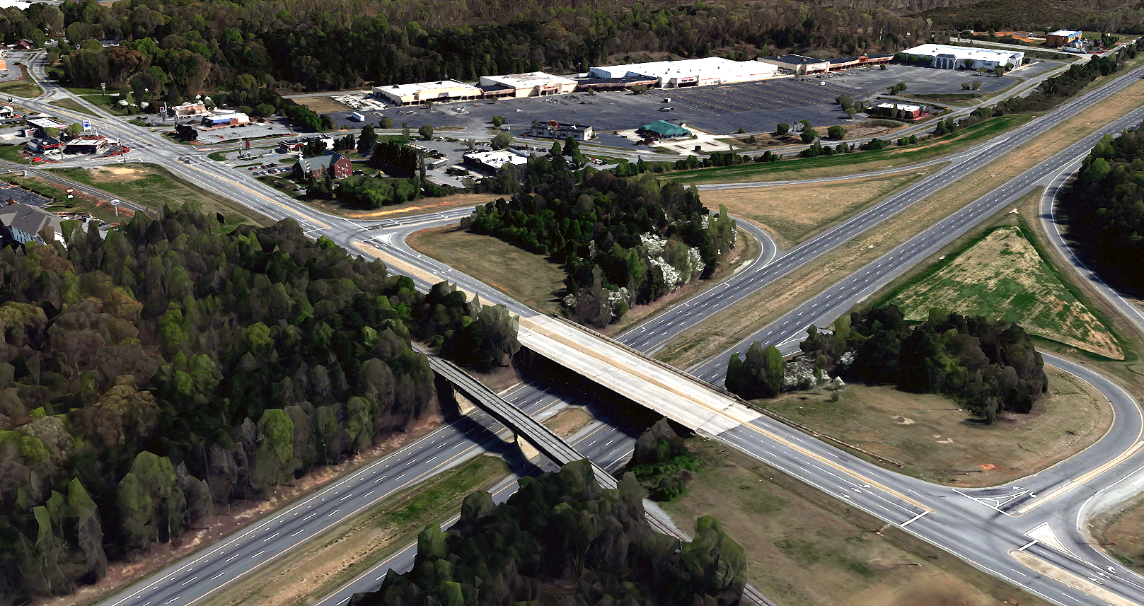NCDOT EA Document for U-2545 New Route I-85 Business to SR 2212 Lexington, Davidson County, NC