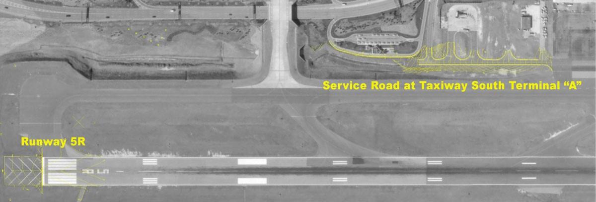 Raleigh-Durham International Airport topographic and planimetric surveys