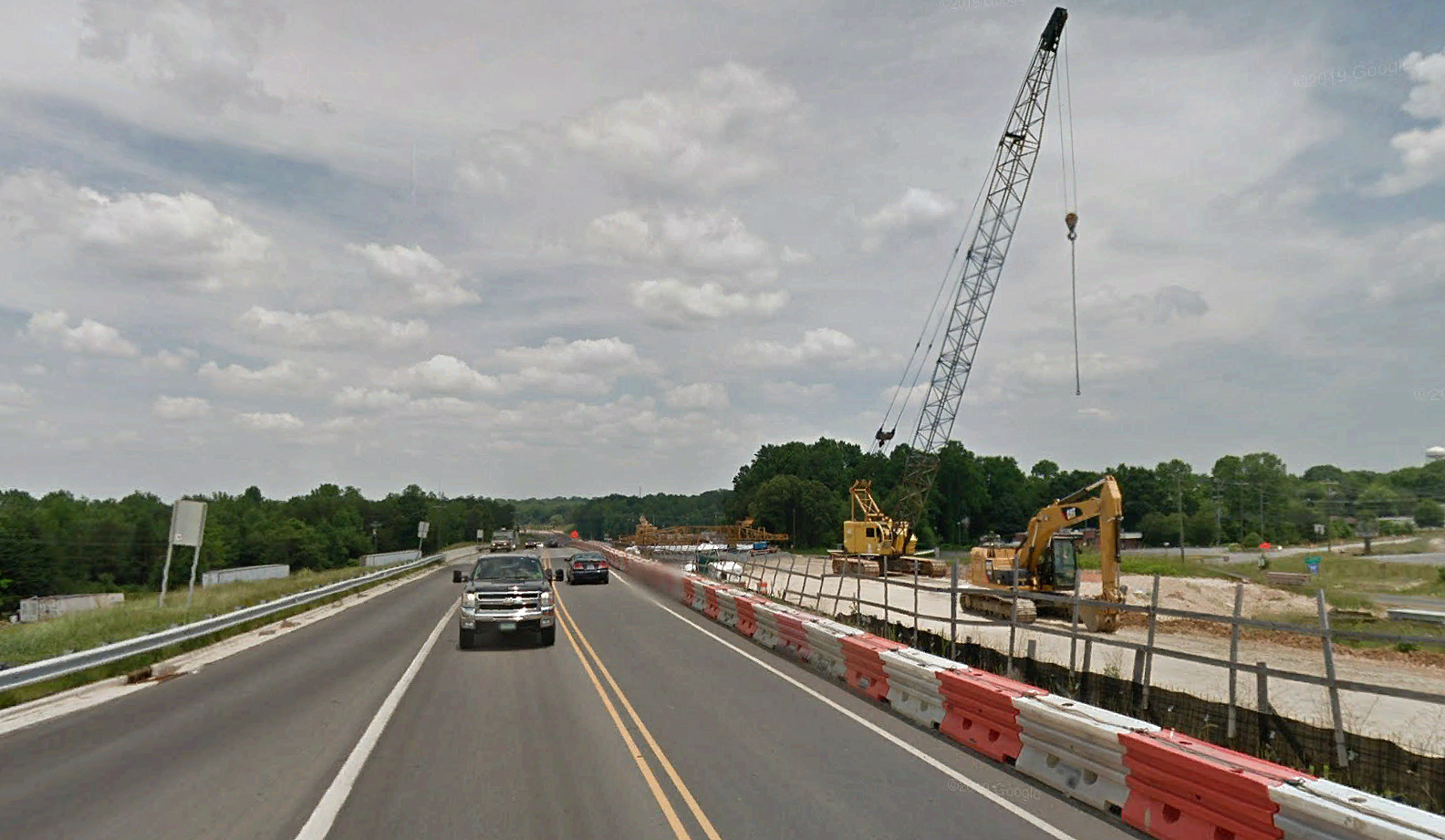Gas Pipelines Relocation Plans Freeway Drive, Reidsville, NC