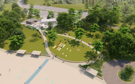 New Bathhouse Design and Permitting at Centennial Beach, Hudson, MA