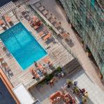The Kensington rooftop pool