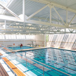 competitive indoor pool