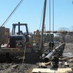 12-inch transmission pressure steel pipeline