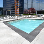 Engineering services for rooftop condominium pool