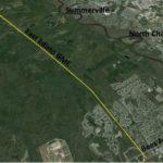 South Carolina steel gas main extension