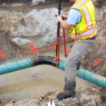Utility coordination for electric and gas main extension