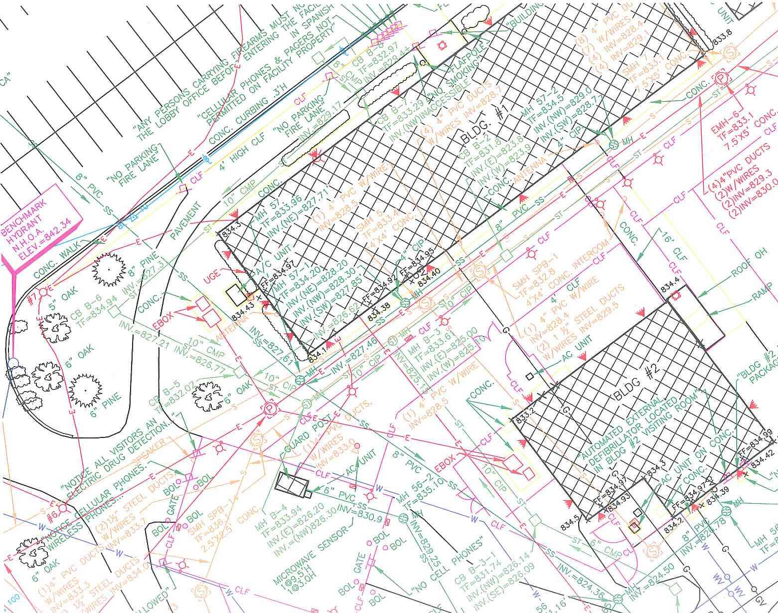 topographic and utility survey