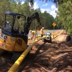 natural gas distribution pipeline