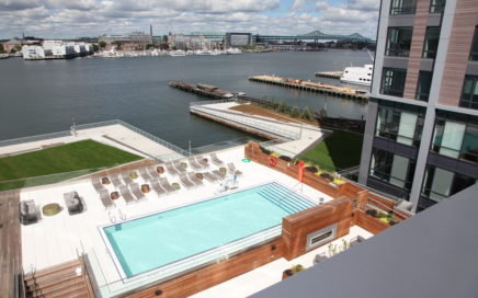 rooftop pool at The Eddy