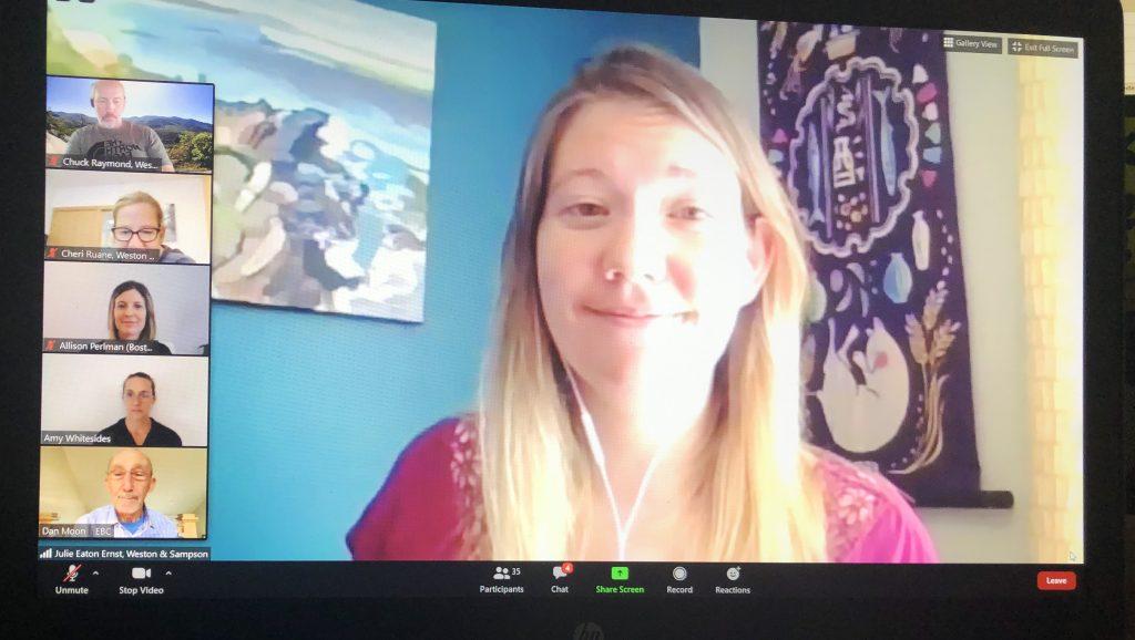Julie Ernst PE, EBCNE Climate Change Webinar Series 2020