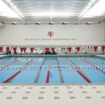 indoor athletic pool facility