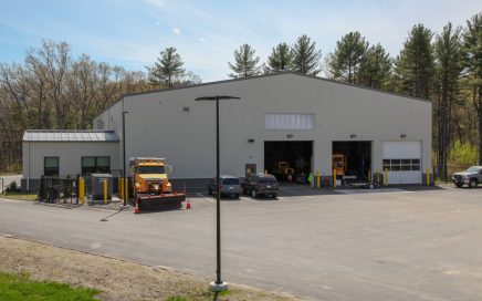 Boylston highway department garage facility