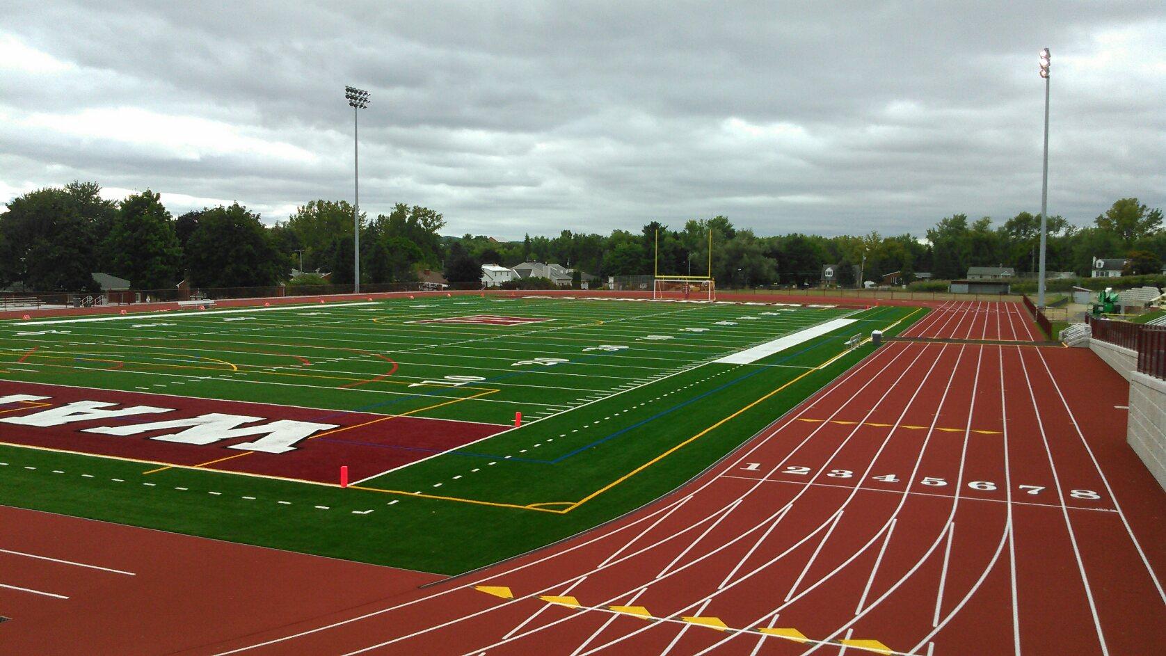 Athletic Field And Stadiumwatervliet Ny Weston Amp Sampson