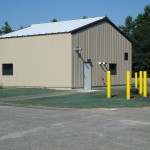 chemical feed building