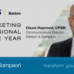 Chuck Raymond Receives Marketing Professional of the Year Award