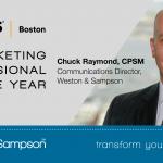 Chuck Raymond Receives Marketing Professional of the Year Award