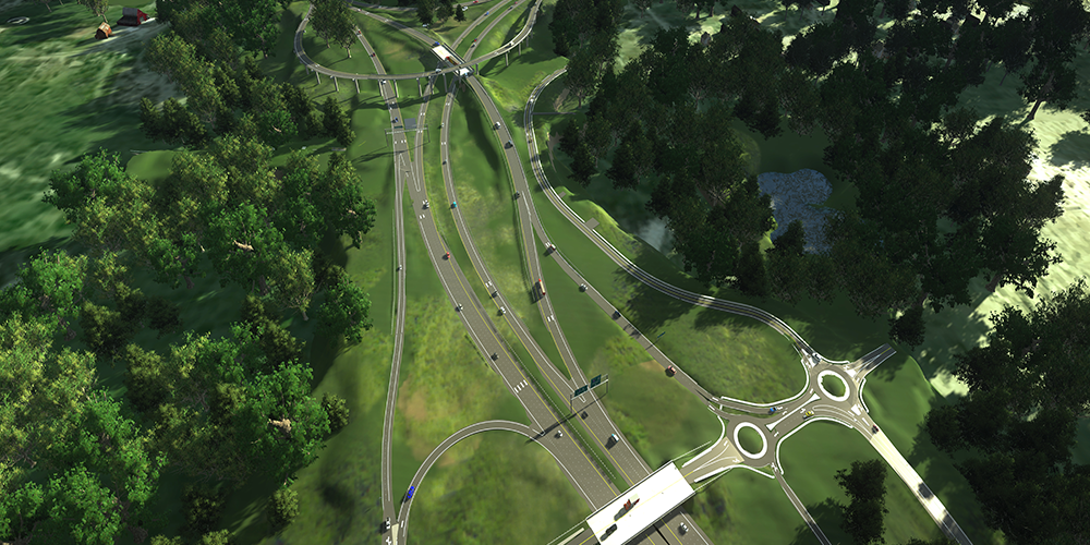 Durham NC East End Connector Visualization