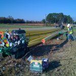 Northampton County (NC) distribution pipeline installation