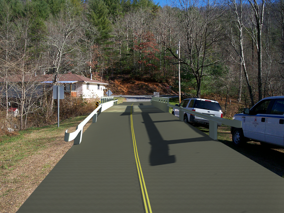 Graham County Bridge Widening Project (NCDOT B-3458)