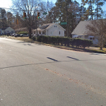 Fayetteville Road and Buxton Drive Intersection, Durham, NC