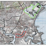 Chelsea Creek highlighted inlets