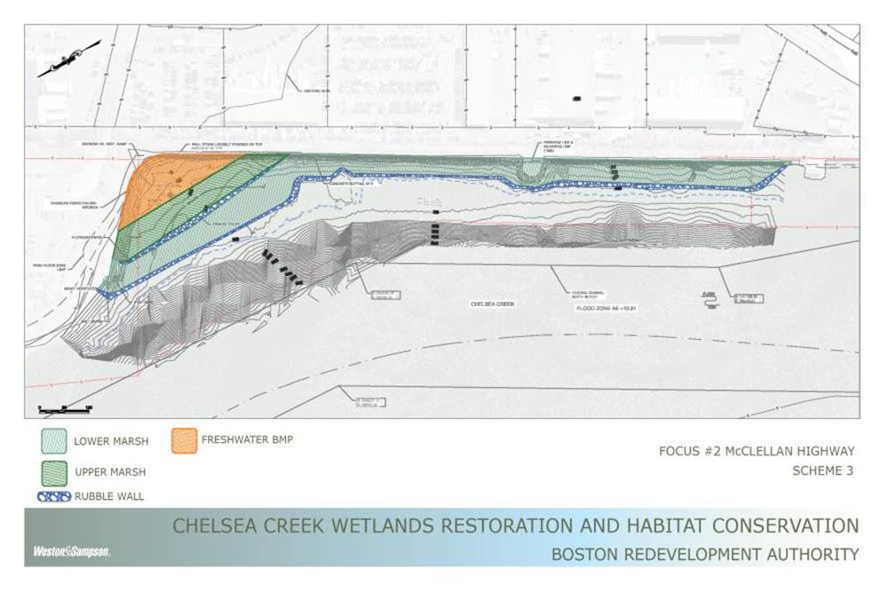 Chelsea Creek scheme 3