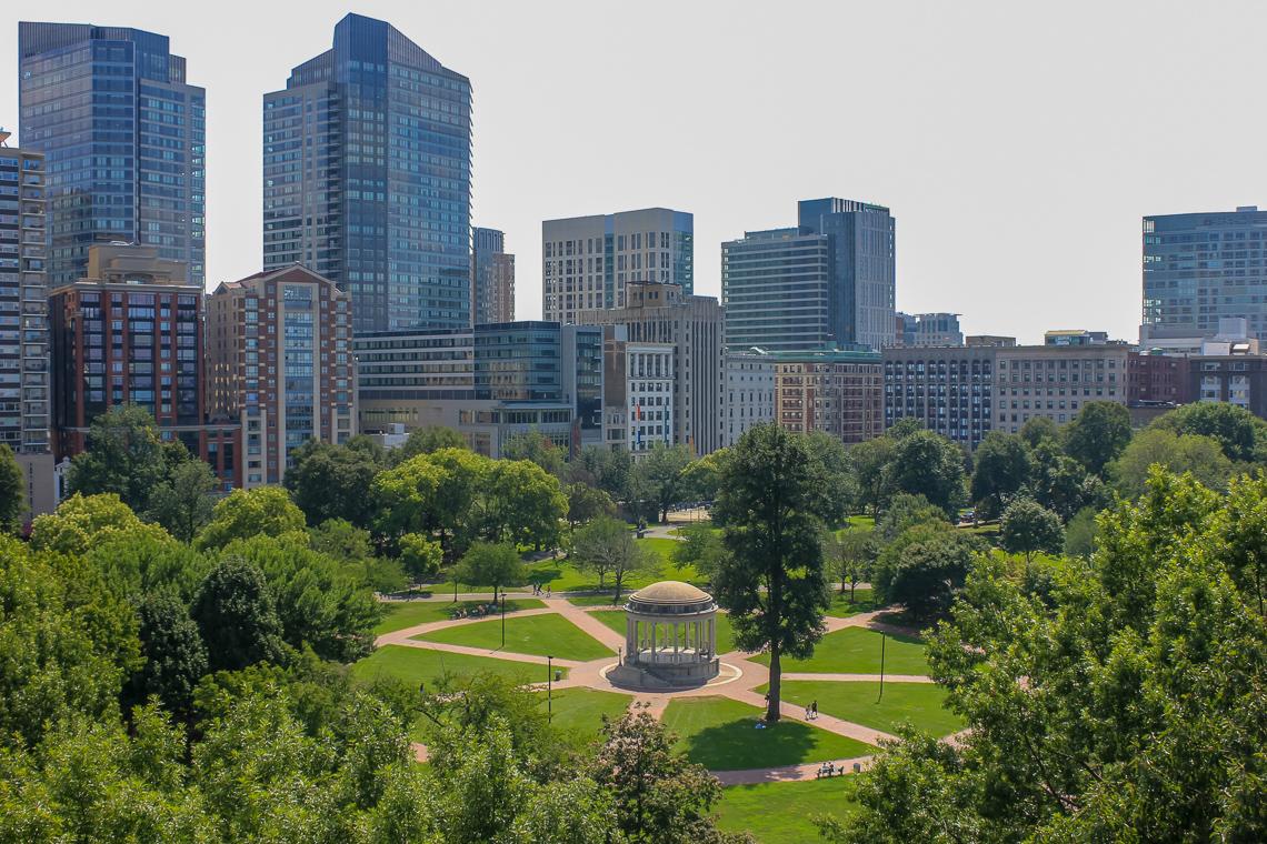 Master Planning for Boston Common