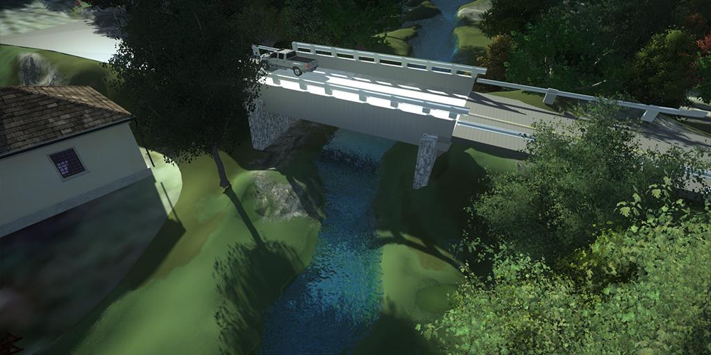 Graham County NC Bridge Widening