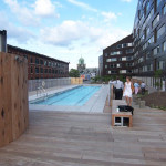 rooftop condominium pool
