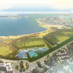 Moakley Park Master Plan Rendering