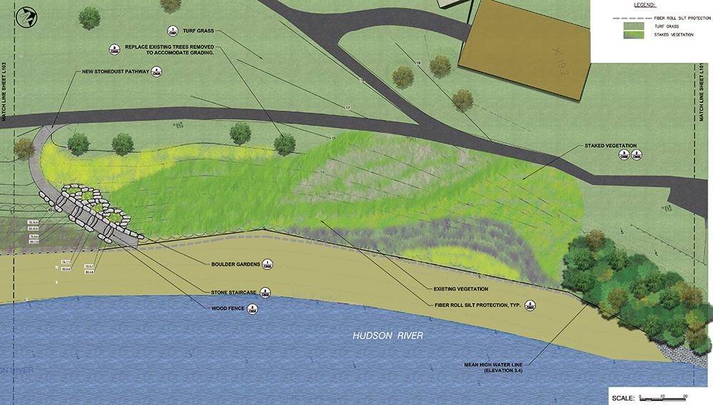 Hudson Shore Park overview rendering