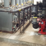 Exiting boiler plant evaluation and replacement for town police station