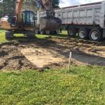 Village of Jefferson, VT excavation of Jolley Property