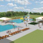 White Memorial Park Pool Facility - Rutland Rendering