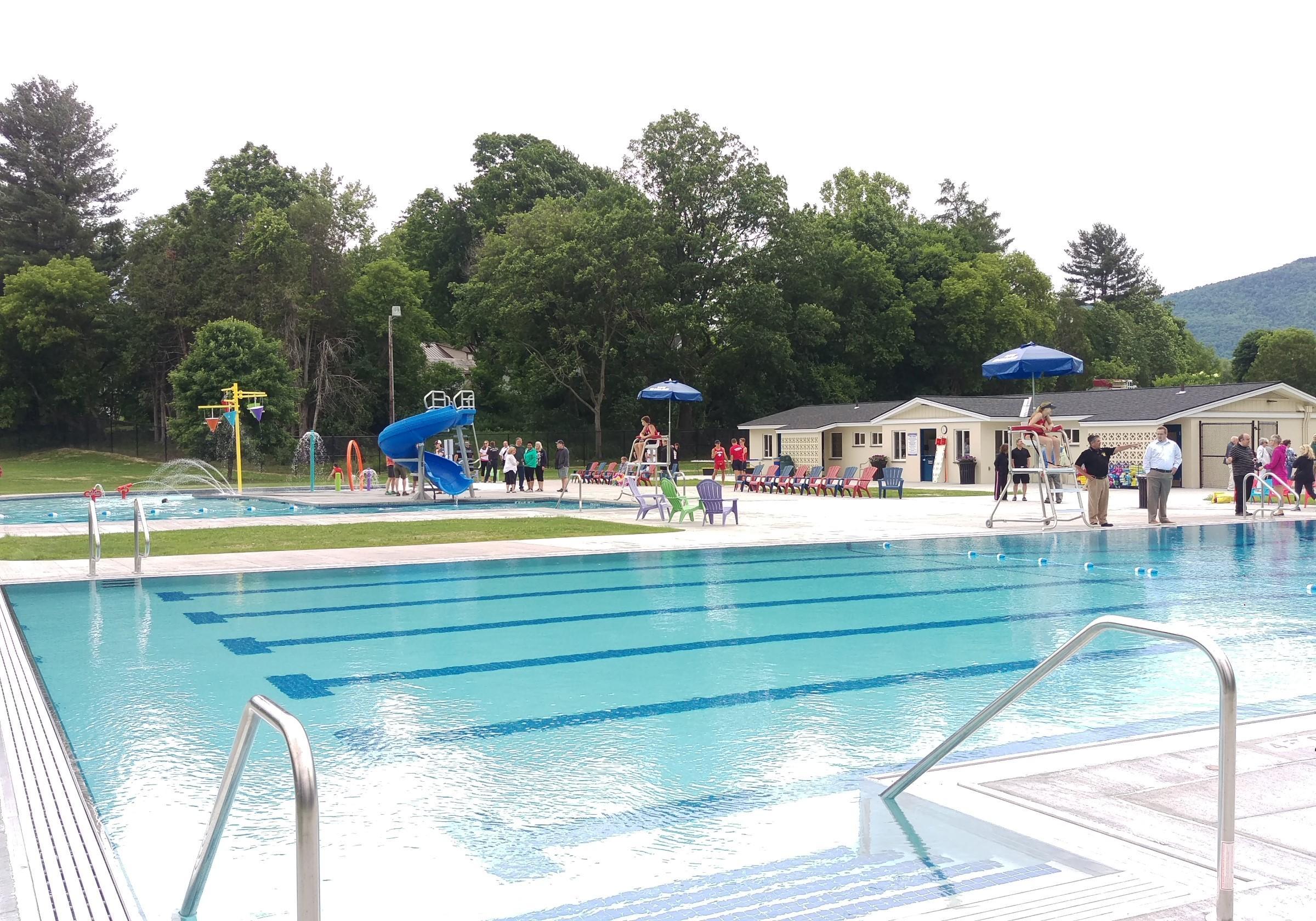 White Memorial Park Pool Facility